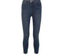 Margot Verkürzte, Hoch Sitzende Skinny Jeans