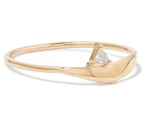 Fragment Ring aus  mit Diamanten