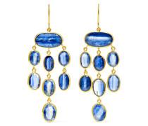 Ohrringe aus 18 Karat  mit Kyaniten