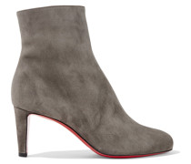 Top 70 Ankle Boots aus Veloursleder
