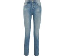 W4 Shelter Slim Hoch Sitzende, Schmal Geschnittene Jeans
