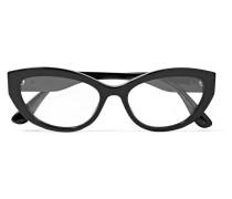 Brille mit Cat-eye-rahmen aus Azetat