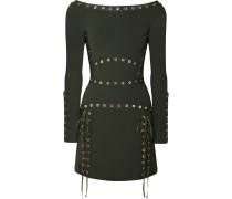 Minikleid aus Stretch-strick