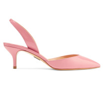 Rhea Slingback-pumps aus Lackleder