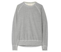 The College Sweatshirt aus Jersey aus einer Baumwollmischung in Distressed-optik