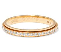 Possession Ring aus 18 Karat Rosé mit Diamanten