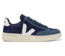 + Net Sustain V-12 Sneakers aus Mesh und Veloursleder