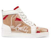 Louis Sneakers aus Leder und Pvc