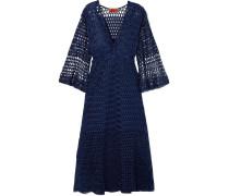Wendbares Kleid aus Strick in Häkeloptik