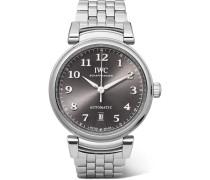 Da Vinci Automatic 40 Mm Uhr aus Edelstahl