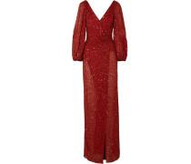 Ida Verzierte Robe aus Georgette
