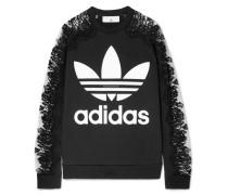 + Adidas Sweatshirt aus Baumwoll-jersey