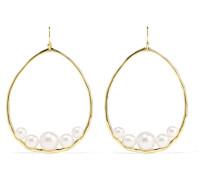 Nova Ohrringe aus 18 Karat  mit Perlen