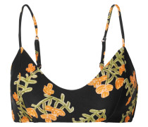 Amber Bikini-oberteil mit Blumenprint
