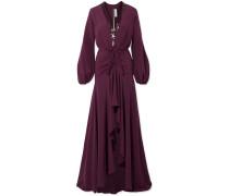 Danitza Robe aus Crêpe De Chine aus Seide