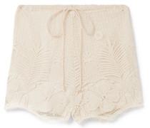 Yara Shorts aus Gehäkelter Baumwollspitze