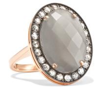 Ring aus 18 Karat Rosé- und Weißgold