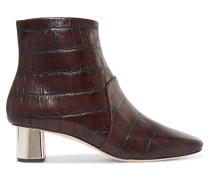 Clarence Ankle Boots aus Leder