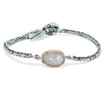 Orbit Armband aus 14 Karat  und Sterlingsilber