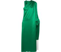Asymmetrisches Kleid aus Seidensatin