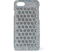 Loubiphone Iphone 7- und 8-hülle aus Glitter-leder