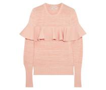 Melierter Pullover aus einer Baumwollmischung