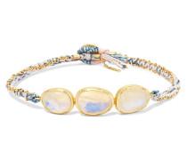 Orbit Armband aus 18 Karat  mit Mondsteinen