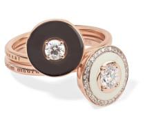 Mina Set aus Zwei Ringen aus 18 Karat