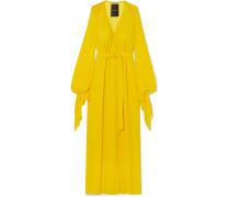 Swanson Robe aus Seiden-crêpe
