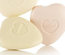 Rose, Geranium And Jasmine Pebble Soap Set, 3 x 75 g – Seifenset