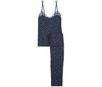 Bloom Pyjama aus Jersey aus Stretch-modal