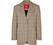 Mirella Oversized-blazer aus Kariertem Webstoff