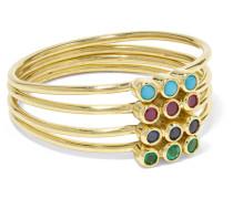 Ringe aus 18 Karat  mit Mehreren Steinen