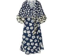 Beja Wickelkleid aus einer Leinen-baumwollmischung