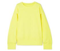 Pullover aus Baumwoll-jersey mit Cut-outs