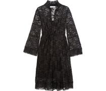 Kleid aus Plissierter Spitze