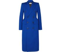 Hourglass Doppelreihiger Mantel aus einer Wollmischung