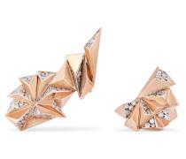 Eclipse Ohrringe aus 18 Karat  mit Diamanten