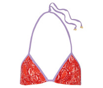 Moss Triangel-bikini-oberteil