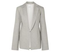 Oversized-blazer aus einer Wollmischung