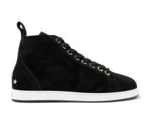 Kolt Verzierte Sneakers aus Veloursleder