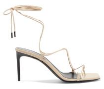 Paris Minimalist Sandalen aus Leder