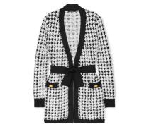 Cardigan aus Bouclé-tweed