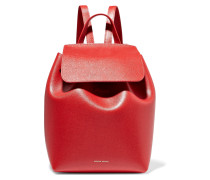 Mini Rucksack aus Strukturiertem Leder