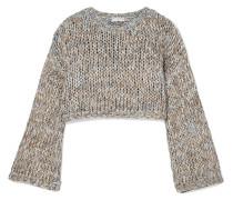 Verkürzter Pullover in Lockstrick