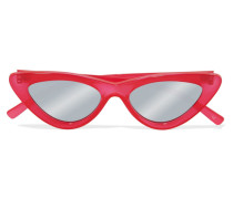+ Adam Selman The Last Lolita Verspiegelte Sonnenbrille