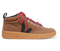 + Net Sustain Roraima High-top-sneakers aus Veloursleder und Leder