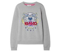 Besticktes Sweatshirt aus Baumwoll-jersey