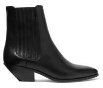 West Ankle Boots aus Leder