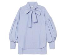 New Romantic Hemd aus Baumwollpopeline